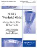 What a Wonderful World - 3-6 Oct. w-opt. 3-7 Oct. Handchimes and Wind Chimes Cover Image