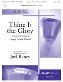 Thine Is the Glory - 3-5 Oct. w-opt. Piano Cover Image