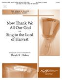 Now Thank We All Our God w-Sing to the Lord of Harvest - 3-5 Oct Cover Image