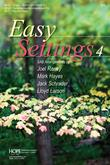Easy Settings 4 - Book Cover Image