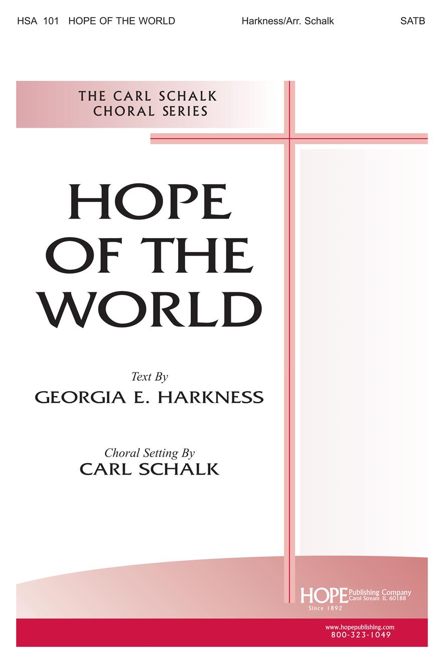 Hope of the World - SATB Cong. and Brass Cover Image