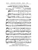 Come Down O Love Divine - SATB Cover Image