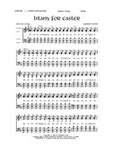 Litany for Easter - SATB Cover Image