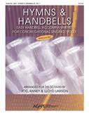 Hymns and Handbells: Easy Handbell Accomp For Cong. Sing - 3-5 oct. reproducible Cover Image