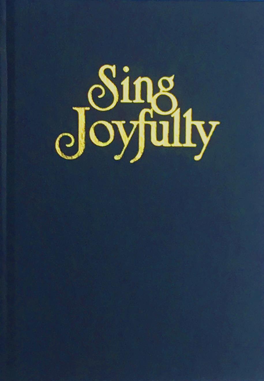 Sing Joyfully - Blue Cover Image