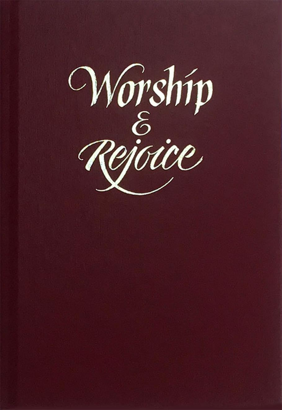 Worship and Rejoice - Red Cover Image