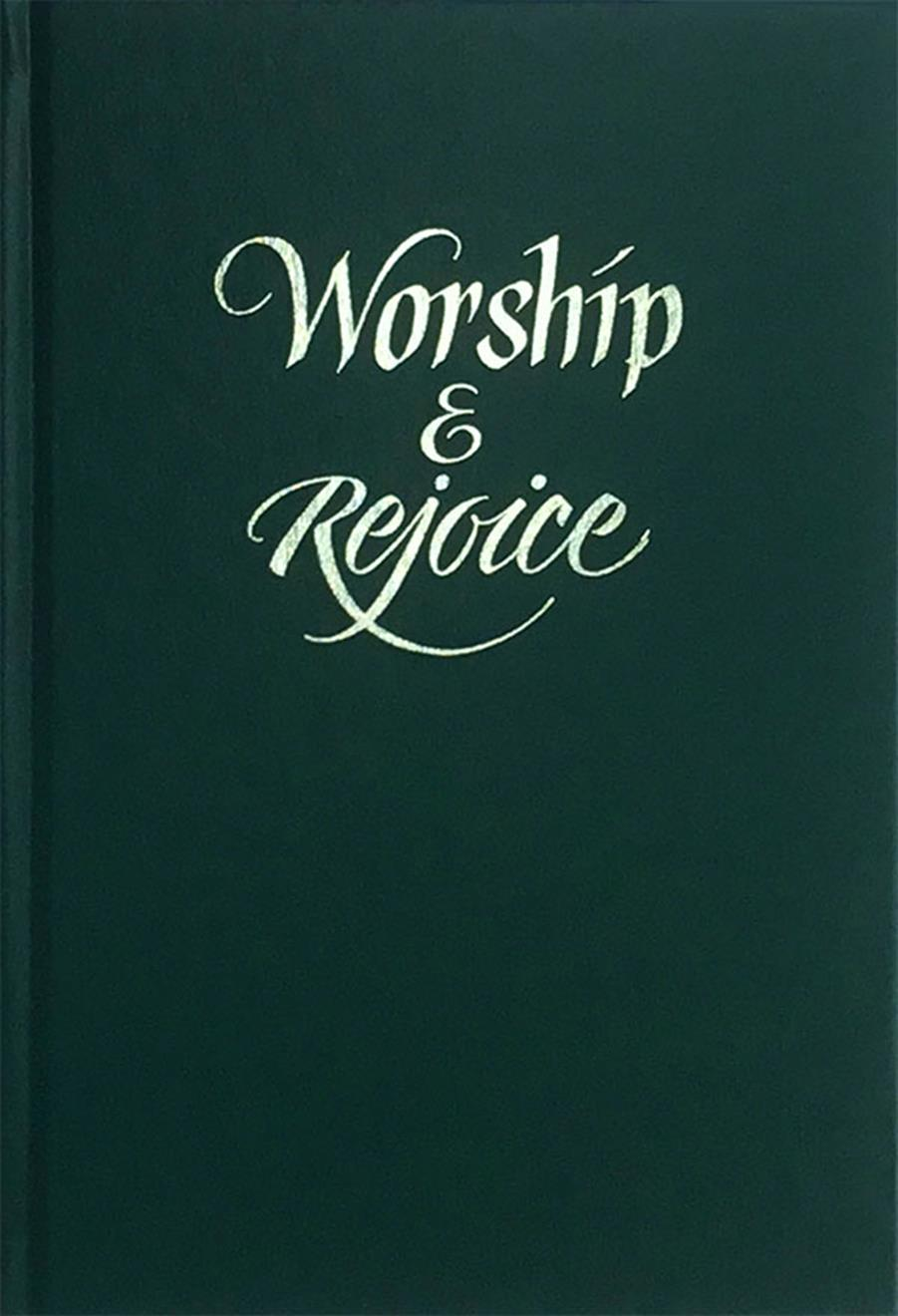 Worship and Rejoice - Green Cover Image