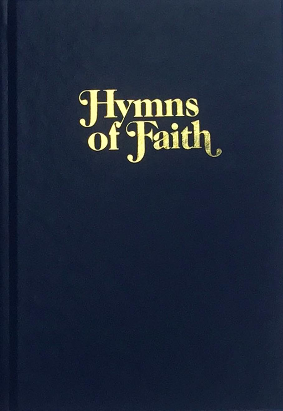 Hymns of Faith - Blue Cover Image