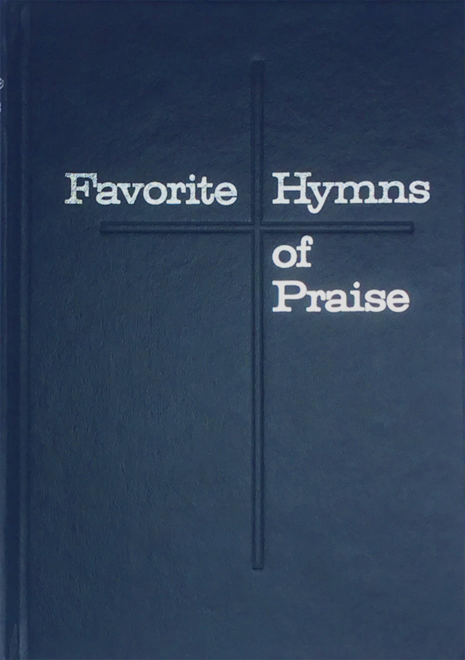 Favorite Hymns of Praise - Blue Cover Image