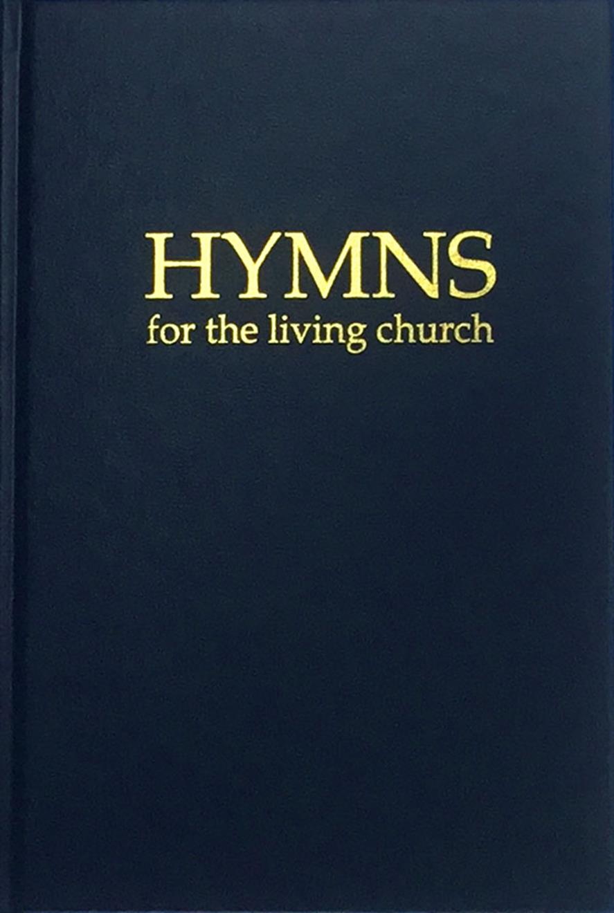 Hymns for the Living Church - Blue Cover Image