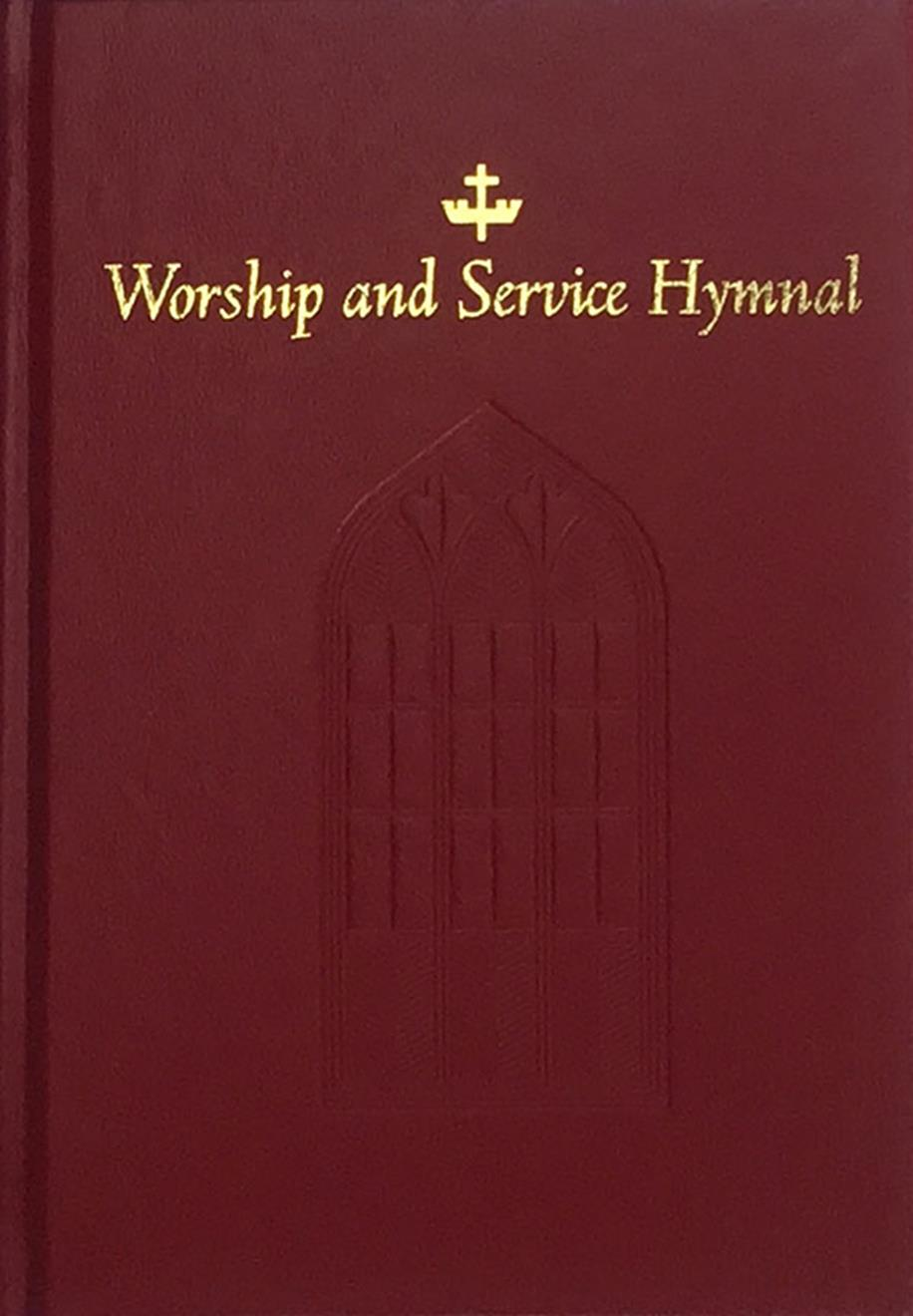Worship and Service Hymnal - Red Cover Image
