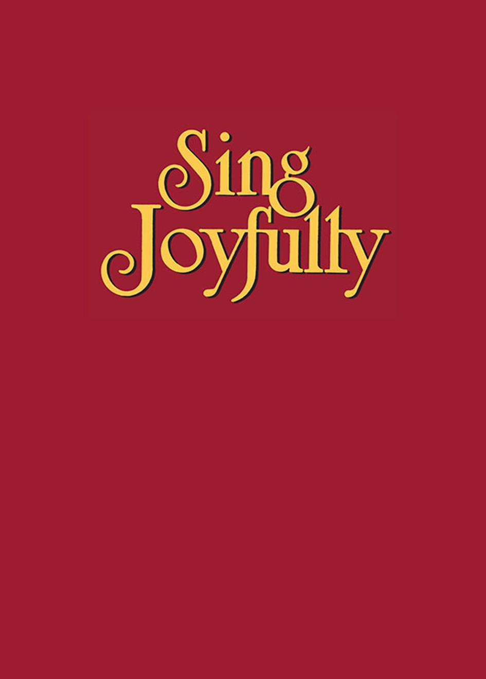 Sing Joyfully - Spiral-bound edition Cover Image