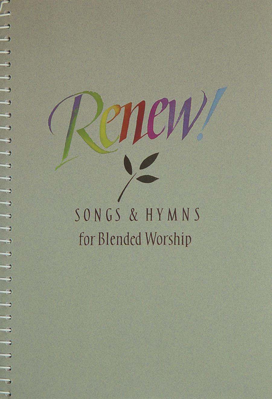 Renew - Accompaniment Edition Cover Image