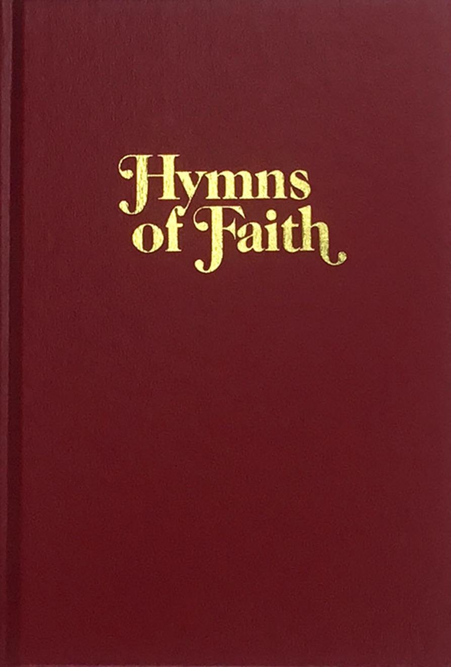 Hymns of Faith - Red Cover Image