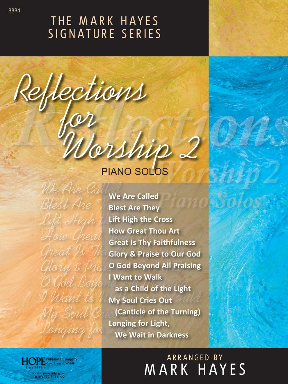 Reflections For Worship II - solo piano collection Cover Image