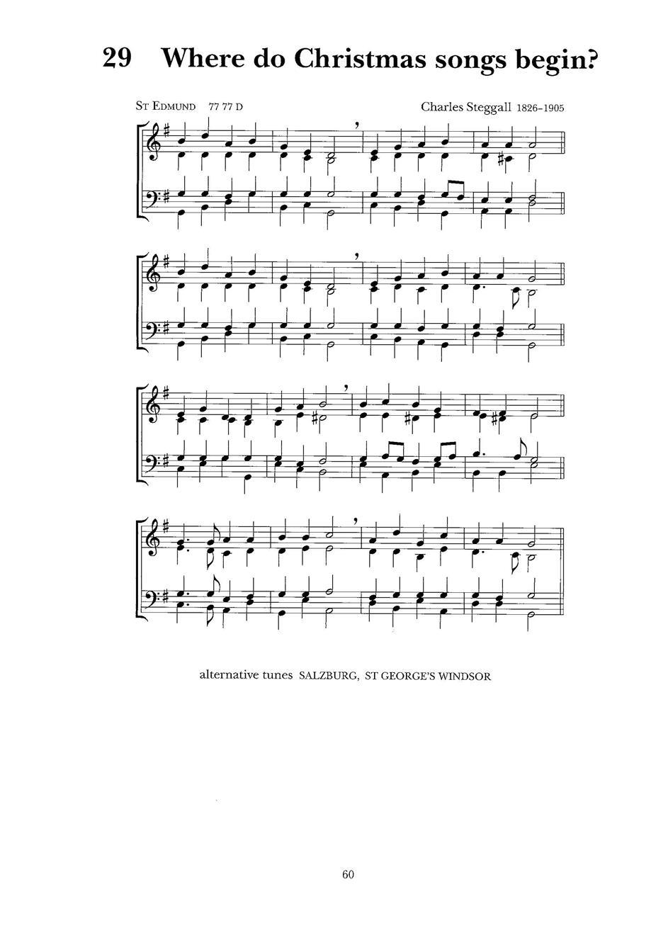 Where Do Christmas Songs - Hope Publishing Company