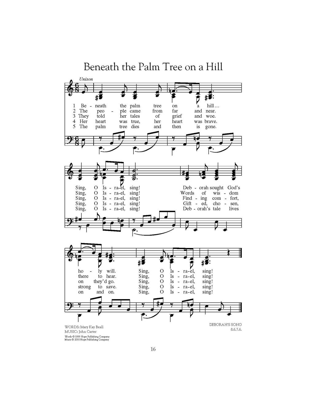 Beneath the Palm Tree on a Hill Cover Image